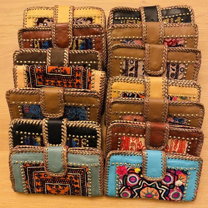 Vintage Banjara Portemonnaie